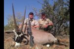 Oryx taken with B&M rifle and CEB projectiles 2012